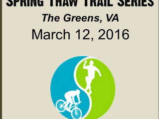 Spring Thaw at The Greens Race-Day Info