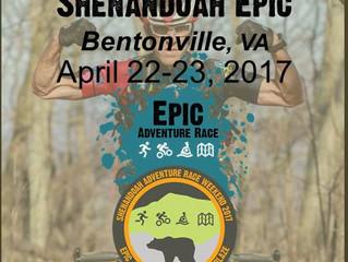 Shenandoah Epic Pre-Race  Logistics Outline Release