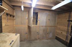 Private tack lockers