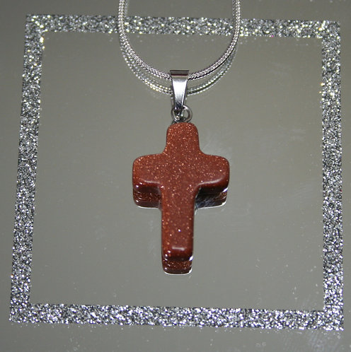 Cross Shaped Pendant
