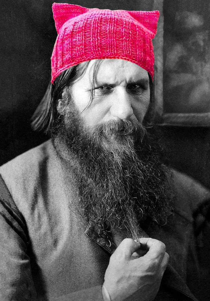 Rasputin's favorite pussy hat