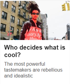 Who Decides What's Cool?