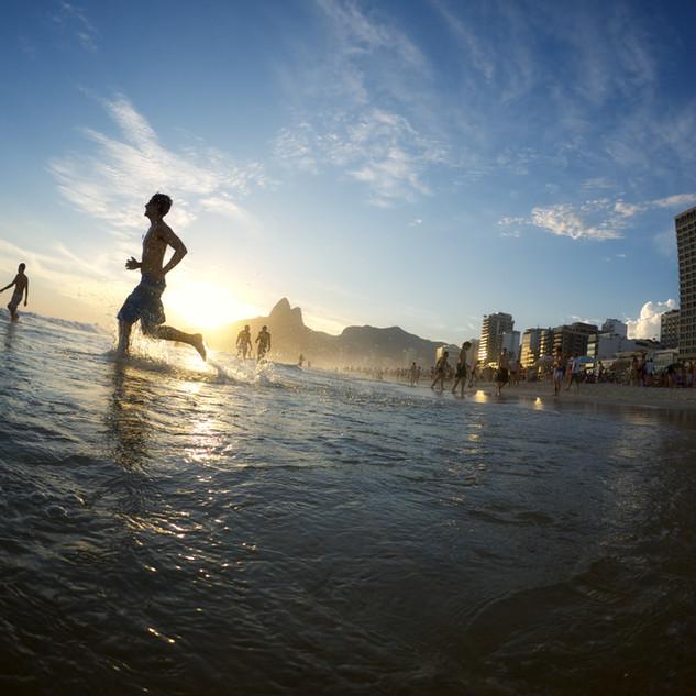 ซันเซทบนชายหาด