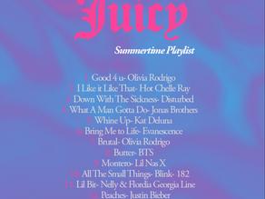 A Very Juicy Summertime Playlist