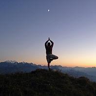 Yoga Brienz in den Berner Alpen auf dem Augstmatthorn