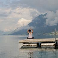 Yogain der Schwangerschaft und während der Schwangerschaftsrückbildung