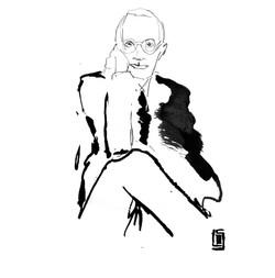 Serge Lutens portrait