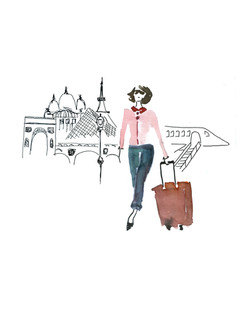 Dior expat Julia Perrin