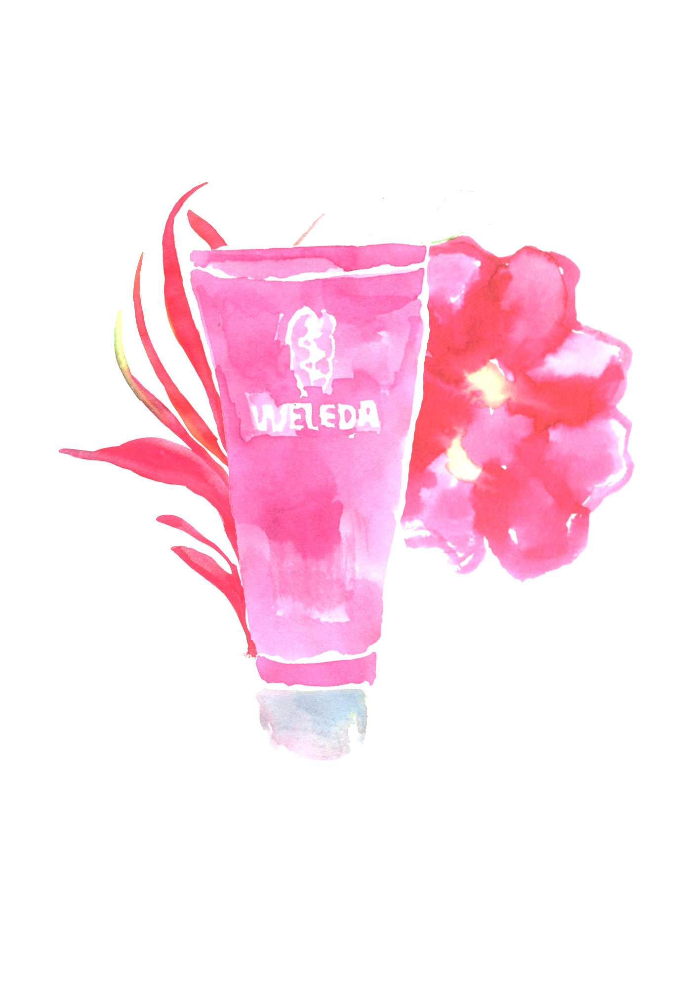 Weleda gel douche Julia Perrin