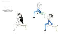 encres colorées le style au bout du pinceau Julia Perrin Mango éditions