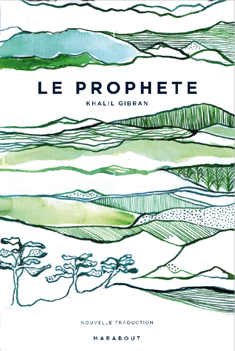 Le Prophète illustration Julia Perrin Marabout Hachette