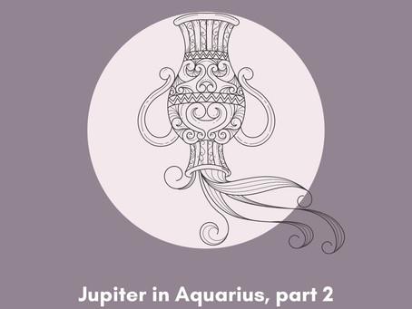 Jupiter in Aquarius for each sign
