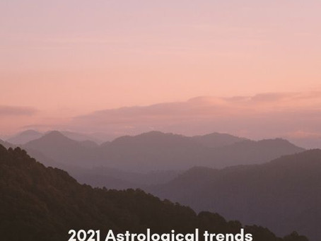 Astrological trends in 2021