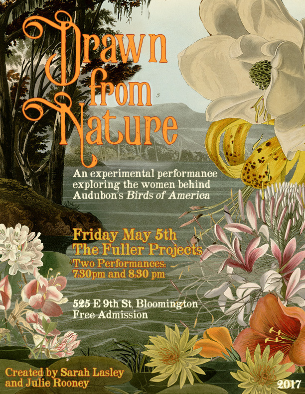 Drawn From Nature Poster