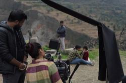 Director Karishma Dube with Rani Kumari