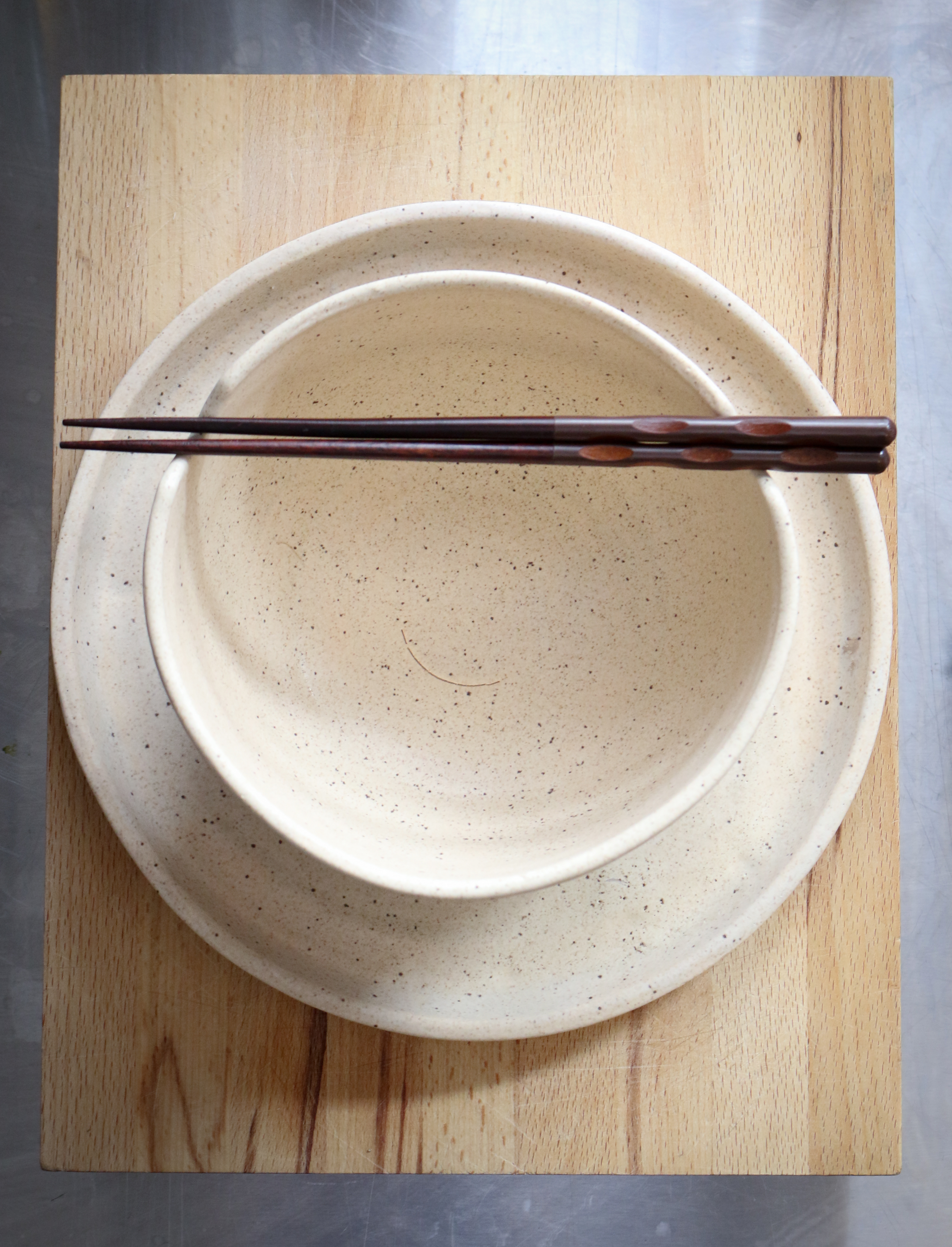 Ramen Bowl and Plate