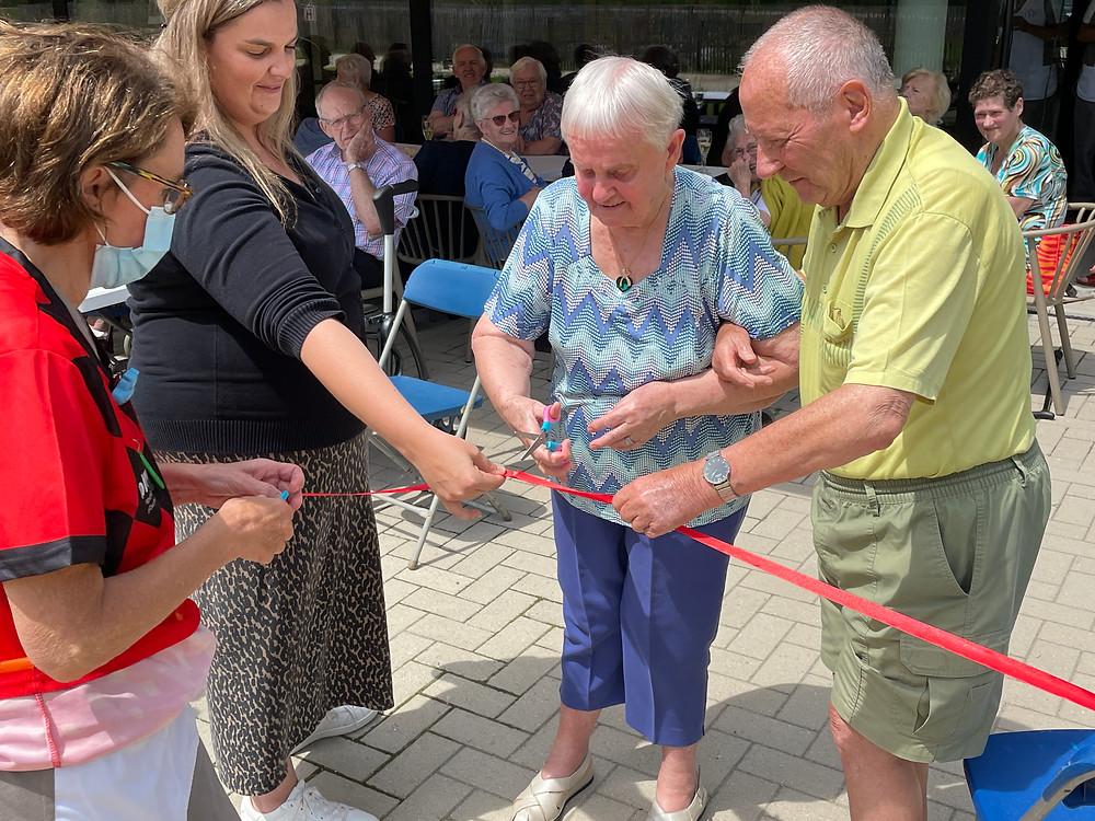 Opening beleeftuin woonzorgcentrum Mol - Orelia Keiheuvel