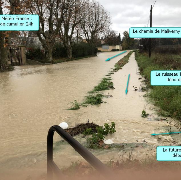 OAp15 - Ruisseau de Mikely - Vieille route de Rognes