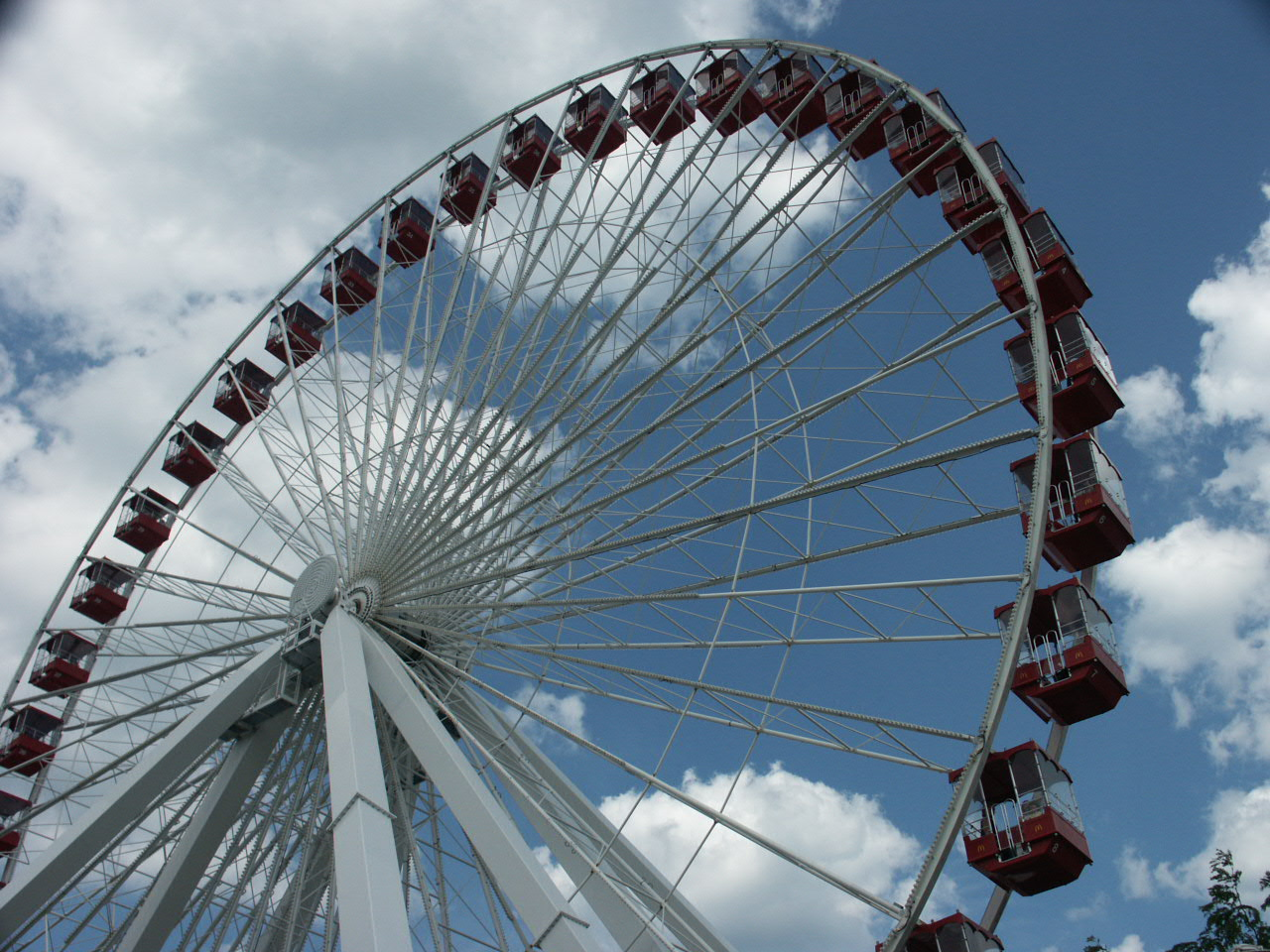 Ferris Wheel at Navy Pier