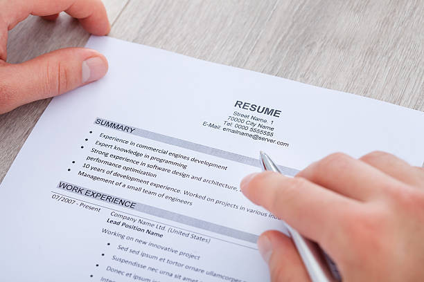 Your Resume: Keep It One Page