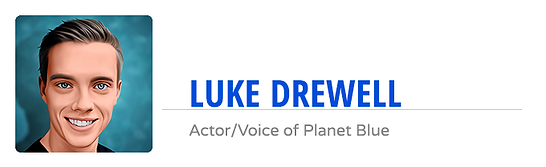 Planet Blue Luke Drewell