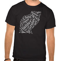 Raven Word Cloud T-Shirt