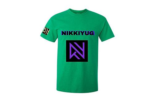 Green NIKKIYUG Unisex T-Shirt