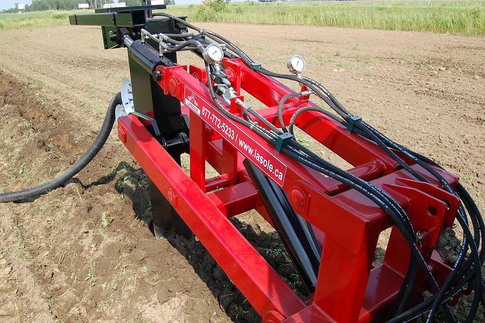 La draineuse agricole LaSole: précision et stabilité sans pareil