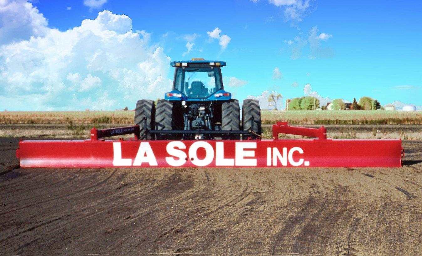 La Sole, lame niveleuse agricole pour niveler vos terres et préparer vos semis