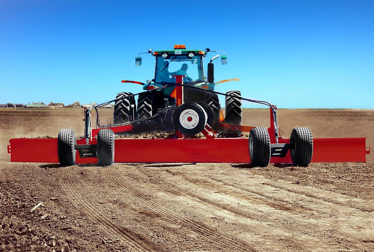 La Super Sole, lame niveleuse agricole compatible GPS / laser