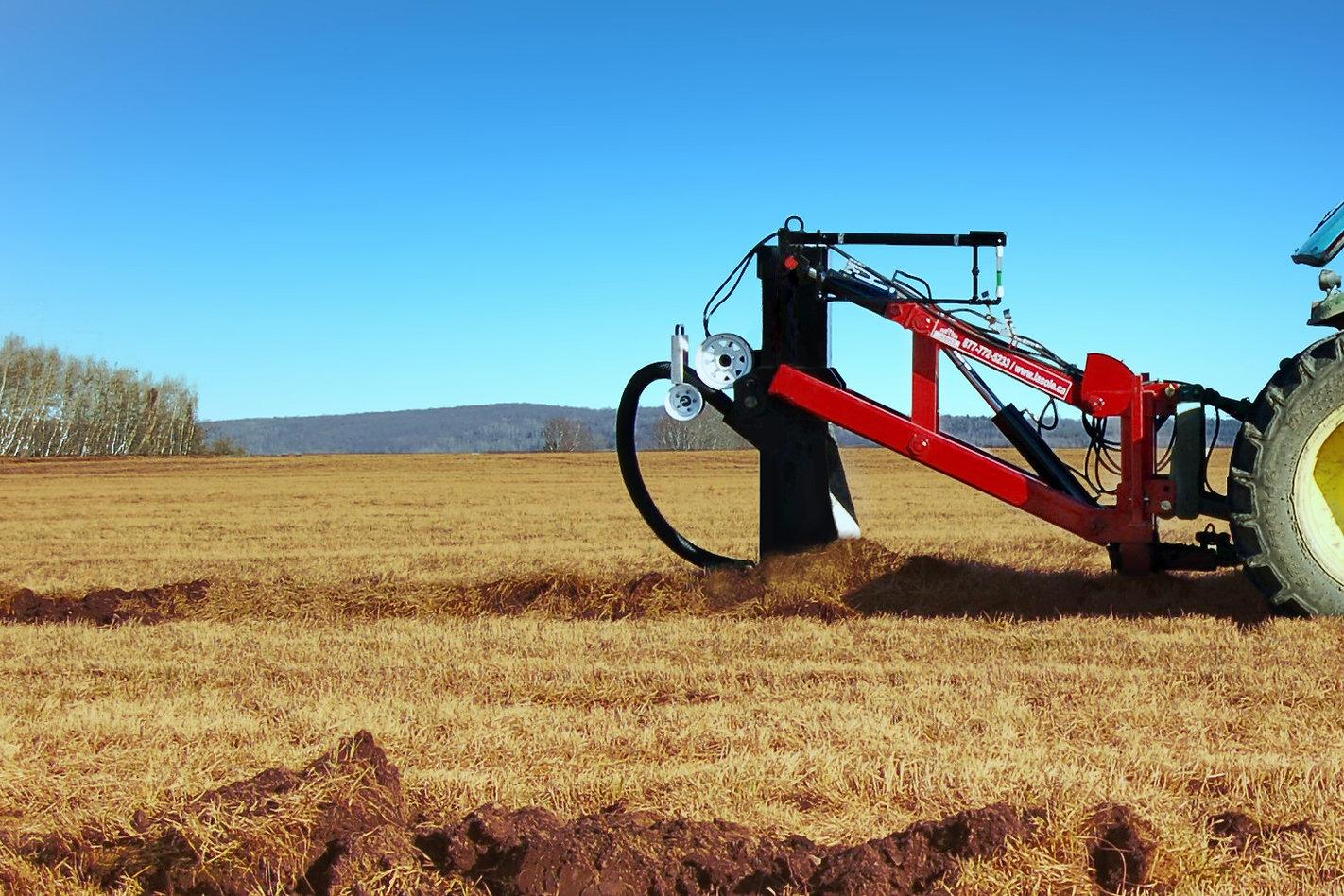 La draineuse agricole LaSole: contrôle et stabilité sans pareil