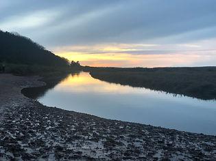 Stiffkey salt marshes Norfolk