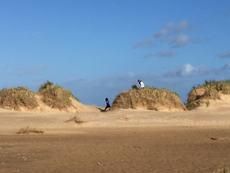 Holkham Dunes in winter