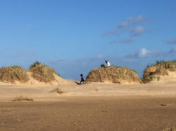 Holkham Dunes in winter