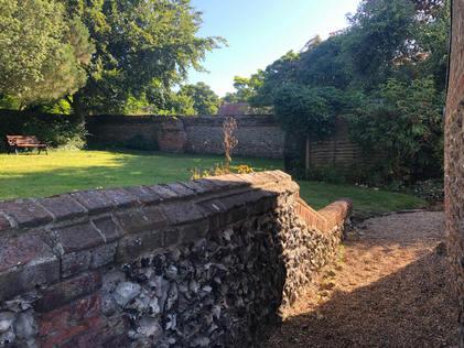 Path to raised back garden