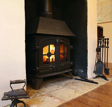 Logburning stove | Wood burner | Coastal Cottage