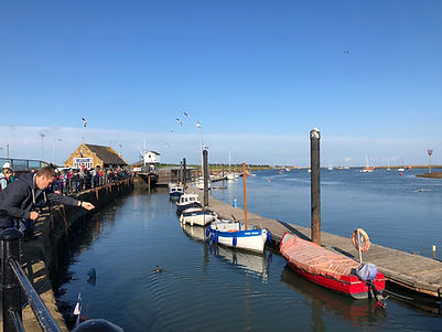 Gilly crabbing | Wells Quay | North Norfolk | East Coast | Self catering accommodation