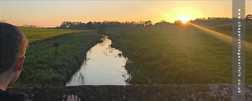 River Stiffkey at Warham