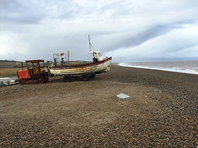 Weybourne   Pebble Beach   Norfolk Coast