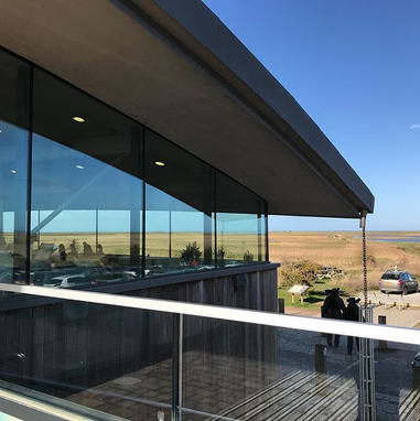 NWT visitor centre at Cley