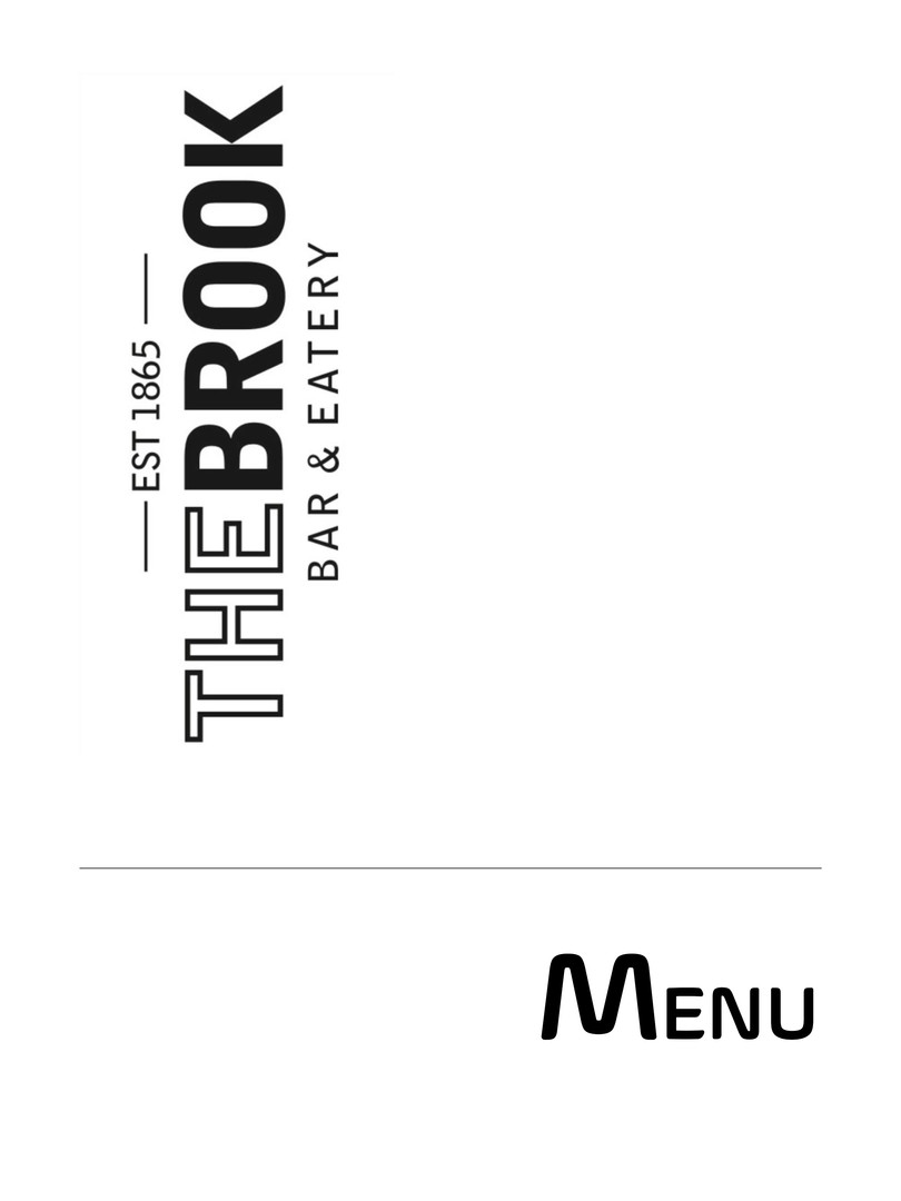 The Brook Menu 1