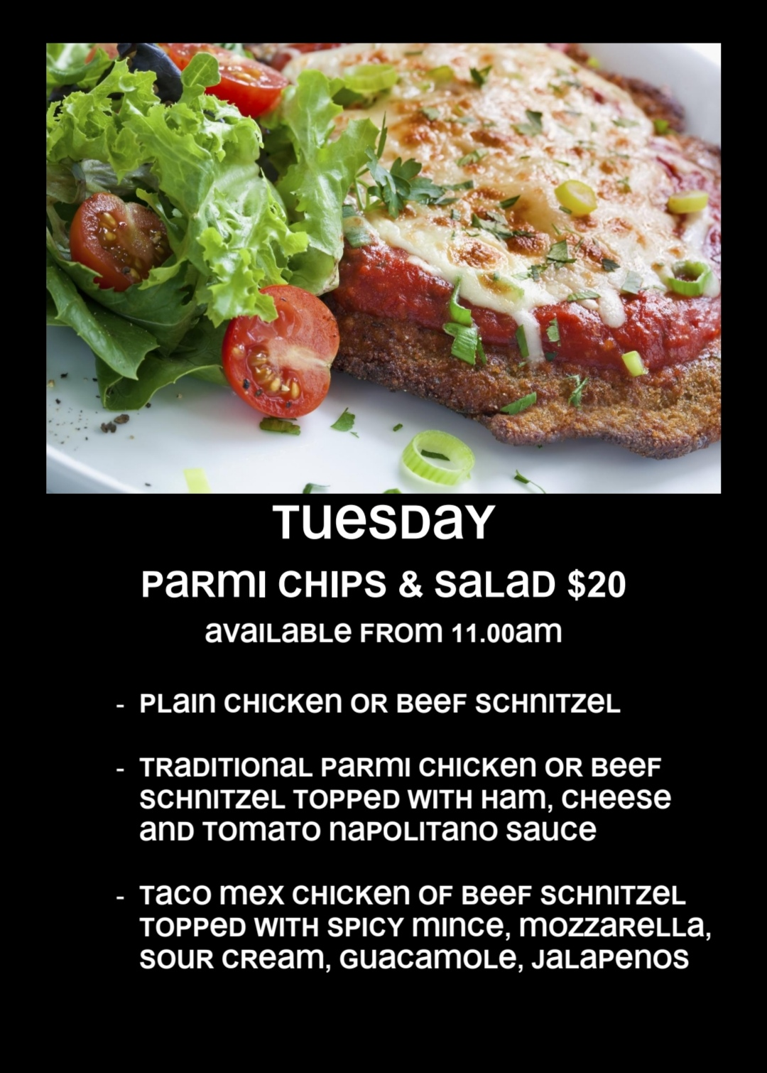 Tuesday Parmi