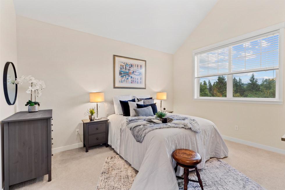 Master Bedroom, Issaquah condo