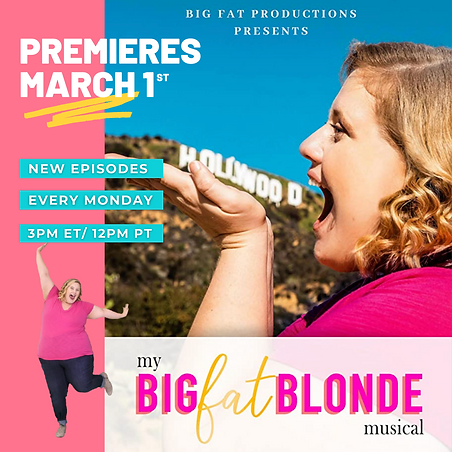 Body Positive _ My Big Fat Blonde Musica