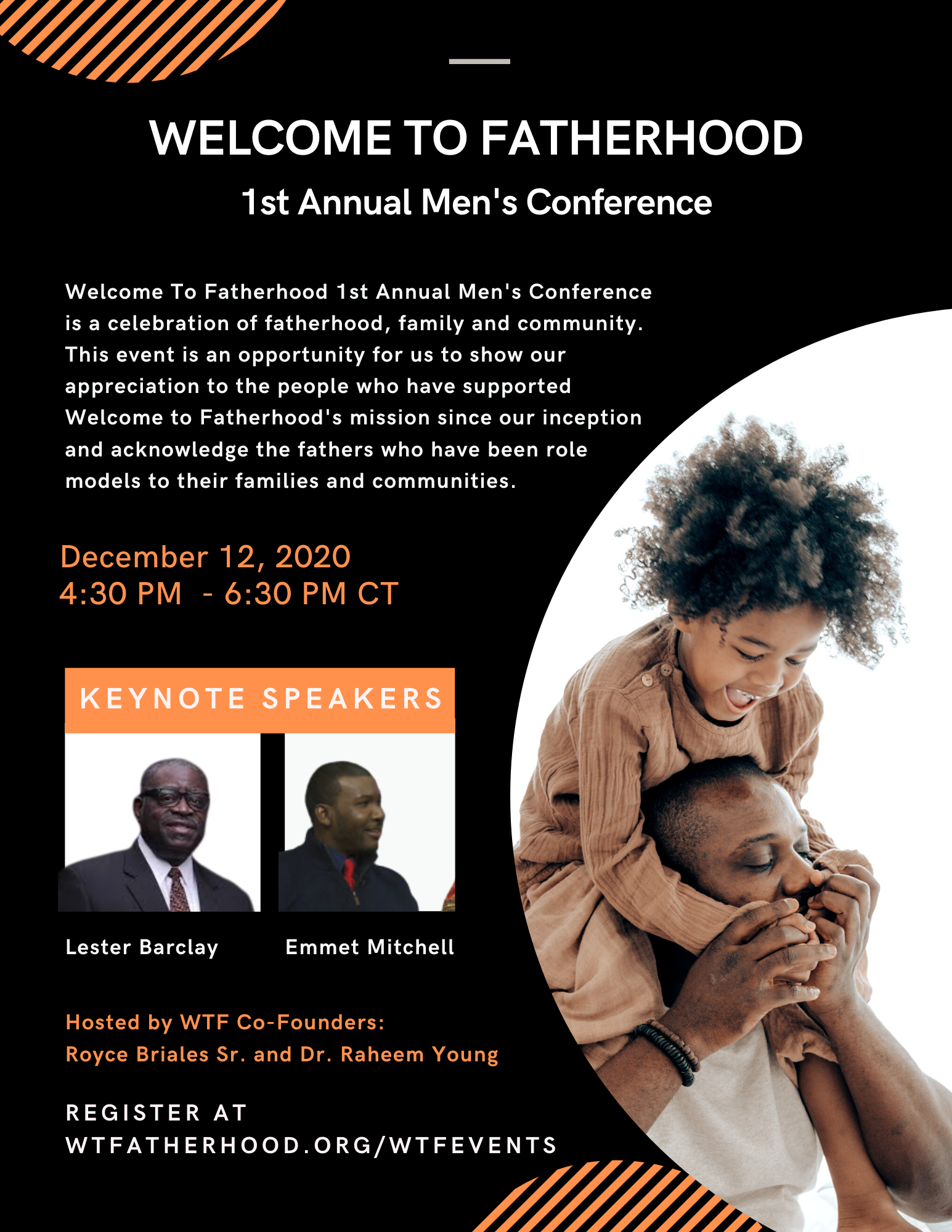 Welcome to Fatherhood (WTF) Annual Men's Conference