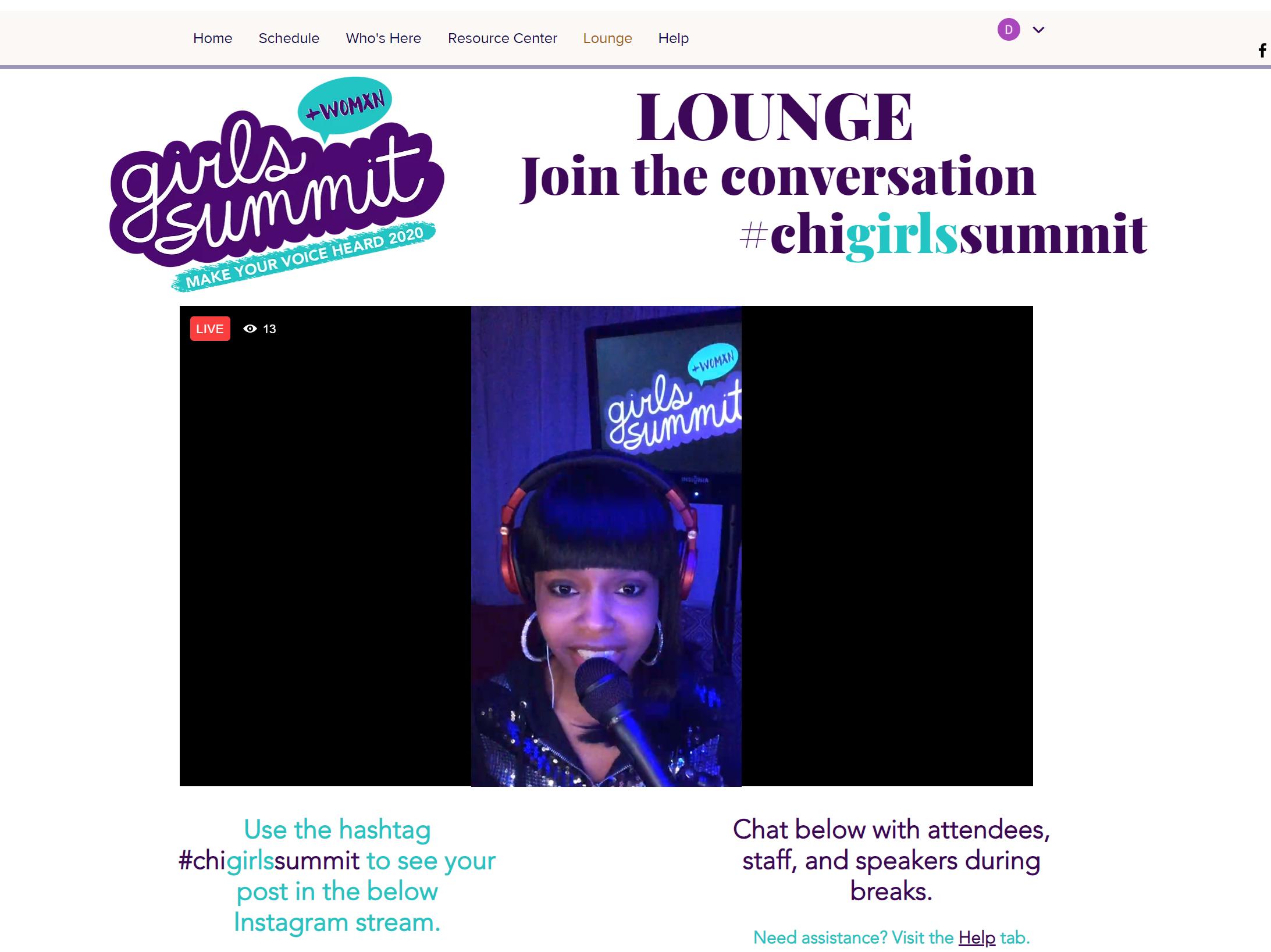 Girls Summit - DJ Booth
