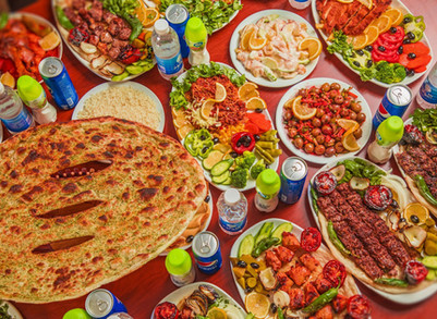 Food Chatter: Exploring Iraqi Food on the Internet