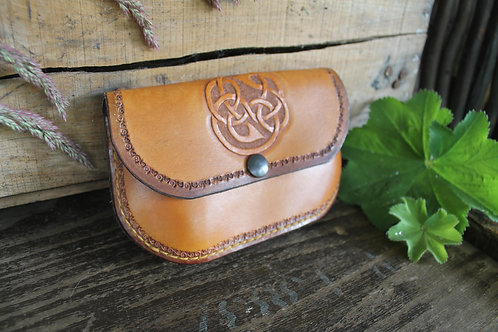 Light Tan Celtic Ladies Purse