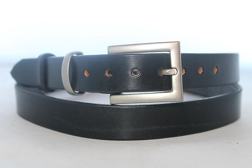 "Plain belts 1"" with Nickel Plated Buckle"