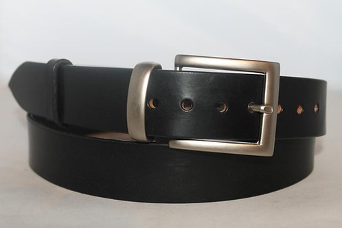 35 mm Plain Belt with nickel plated buckle